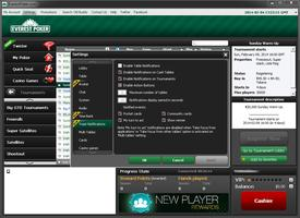 Everest Poker Settings