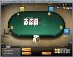 Betsson Poker Microgaming Table