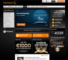 Betsson Poker Website