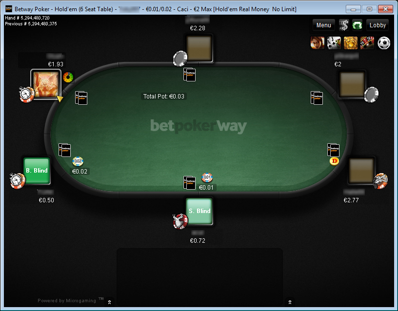 Betway Poker
