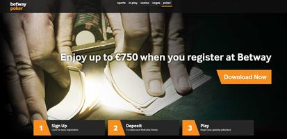 Betway Poker Website