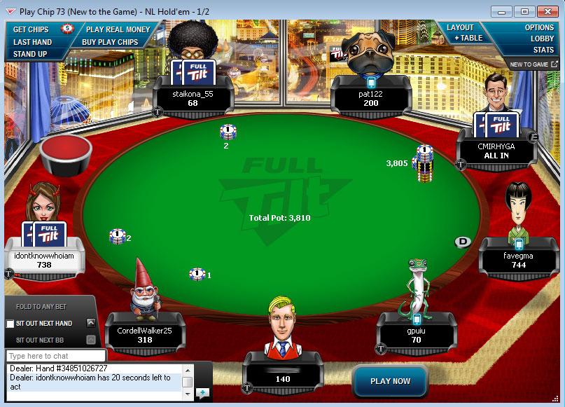 Full tilt poker network status