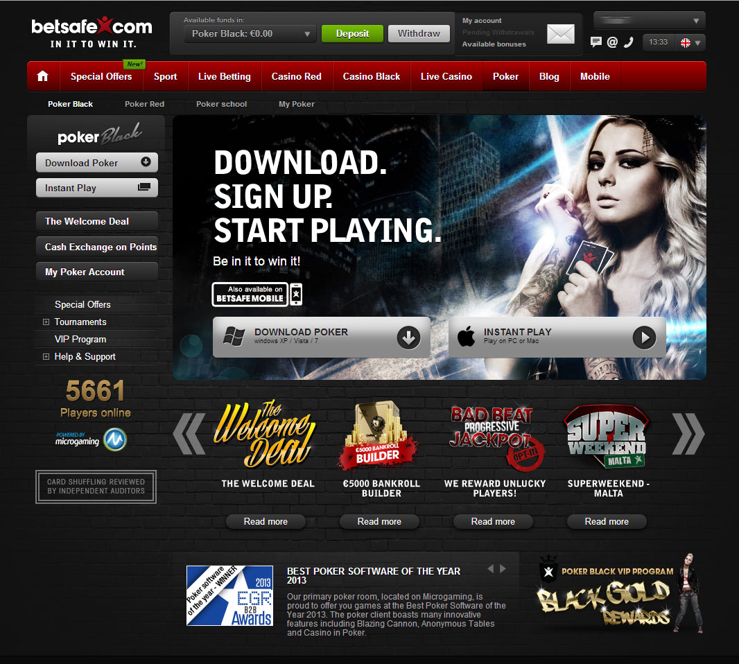 Best poker website slots online new