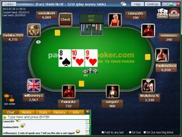 Paddy Power Poker Cash Table