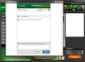 Paddy Power Poker Chat Support