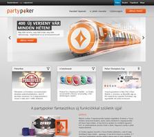 PartyPoker Website