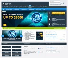 New Betfair Website
