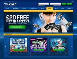 Coral Poker Website