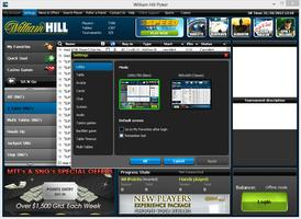 William Hill Poker Settings