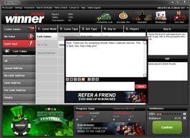 Winner Poker Live Chat