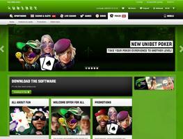 Unibet Poker Website