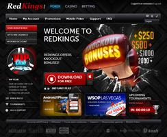 RedKings Poker Website