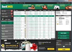 bet365 poker network