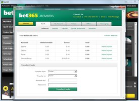 Bet365 Poker Bank