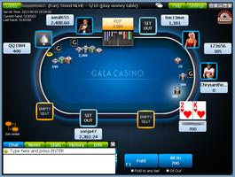 Gala Poker Cash Table