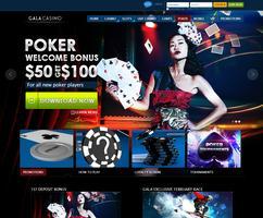 Gala Poker Website