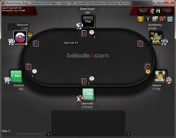 Betsafe Poker Microgaming Table