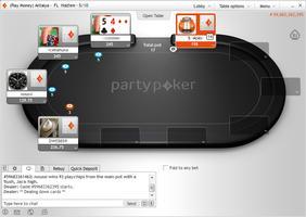 PartyPoker CG Table