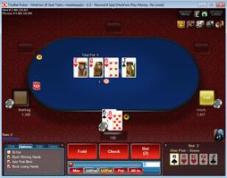 Triobet Cash Game Table