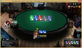 NordicBet cash table
