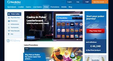 NordicBet website