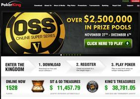 PokerKing website