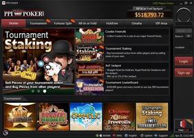 PPI Poker lobby