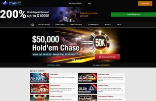 Breakout Poker Website