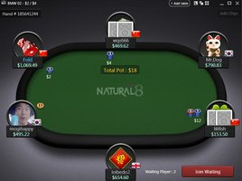NATURAL8 table
