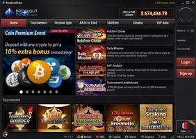 Breakout Poker Lobby