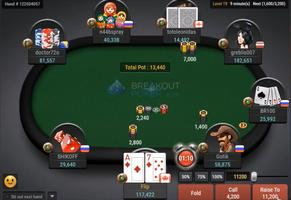 Breakout Poker Table