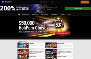 Breakout Poker Website
