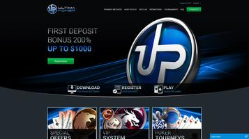 Ultima Poker website
