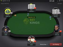 BetKings Cash Game Table