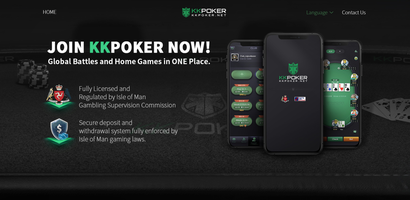 KKPoker Website