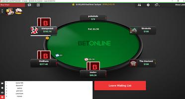 BetOnline Cash Table