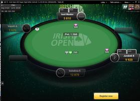 bwin poker tournament table
