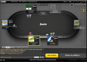 bwin poker cashgame table